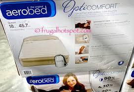 costco sale aerobed opticomfort queen airbed with headboard