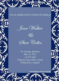 free sle wedding invitations free wedding invitation template page word excel pdf