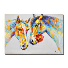 compare prices on nice horse paintings online shopping buy low