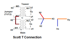 scott t connection of transformer electrical notes u0026 articles