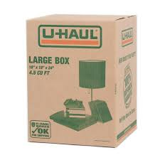 u haul moving supplies boxes