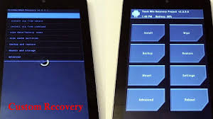 custom recovery android easy and way to install cwm twrp custom recovery on any