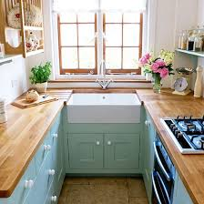 small kitchen ideas uk tiny kitchen renovation with faux painted brick backsplash small