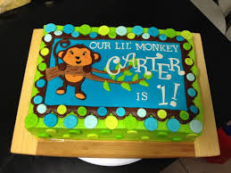 monkey birthday cake best 25 monkey cakes ideas on pinterest