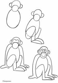 Draw Monkey Pictures Tags Draw Monky Drawing