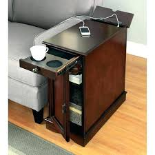 narrow end tables with storage incredible small end tables with drawers iron wood for narrow end