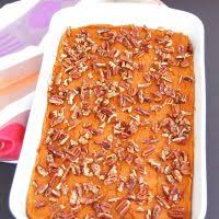 sweet potato carrot casserole with maple pecans vegan gluten free