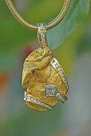 custom necklace pendants alaskan gold nugget diamond necklaces pendants