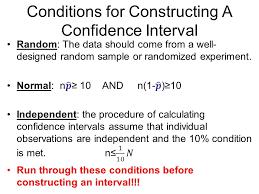 confidence intervals estimating population proportion ppt download