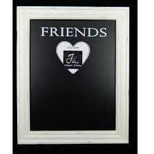 cadre photo tableau noir family j line pour photo 13x13 cm