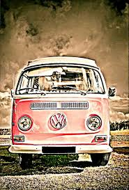 volkswagen camper pretty in pink vw volkswagen camper van limited edition prints