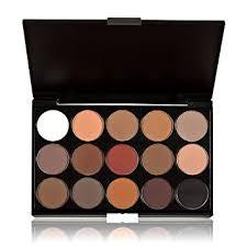 anself professional 15 colors makeup warm eyeshadow