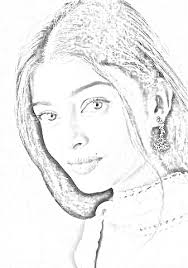 aish in pencil sketching sulekha creative