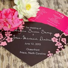 Hand Fan Wedding Programs Choosing The Fan Style Of Your Wedding Programs