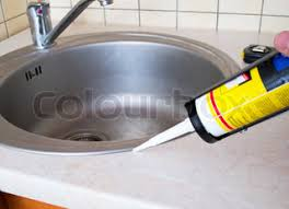 Sealant For Kitchen Sink How To Caulk Seal A Kitchen Sink On Laminate Countertop