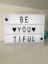 light up letters diy abs material cinema light box letters a3 a4 a5 size diy free