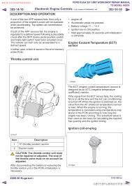 brake sensor ford kuga 2011 1 g workshop manual