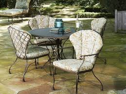 Used Patio Furniture Magnificent Ideas To Fix Wrought Iron Patio Furniture U2014 All Home