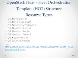 openstack heat template openstack orchestration with heat