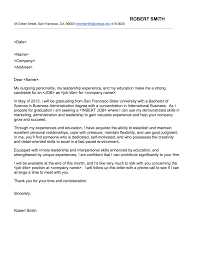 cover letters for college students colleges cover letter for