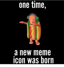 Meme Icon - one time a new meme icon was born meme on me me
