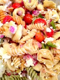 spectacular and easy pasta salad styled by jess