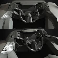 bugatti jet elysium artstation sci fi car interior denis rutkovsky внутри тачки