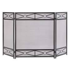 Baby Proof Fireplace Screen by Fireplace Screens Fireplaces The Home Depot
