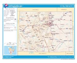 Colorado Map by Colorado State On Usa Map Colorado Flag And Map Us States Card No
