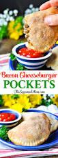 bacon cheeseburger pockets the seasoned mom