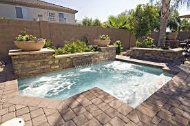 small swimming pool designs for small yard with photo of cool