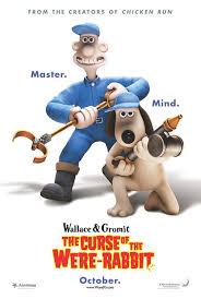 wallace u0026 gromit curse rabbit movie poster 1