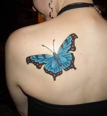 15 butterfly tattoos representing nature u0026 beauty livinghours