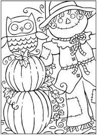 pin sue wong halloween craft scarecrows