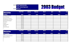 free church financial statement template