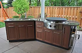 kitchen impressive outdoor kitchen cabinets within alfresco
