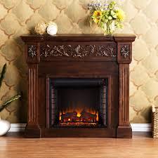 calvert electric fireplace mantel package in espresso fe9278