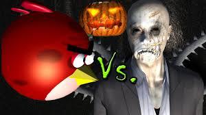 Slender Man Halloween Costume Angry Birds Slenderman Halloween Special 3d Animated Game