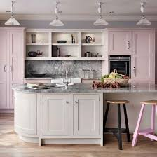 pale pink kitchens u0026 matching paint colors kitchn