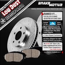 2007 honda accord rotors front drill slot brake rotors and ceramic pads honda accord civic