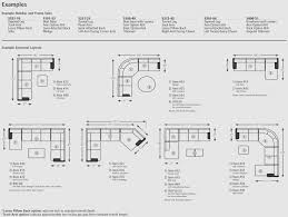 Sectional Sofas Dimensions How To Read The Dimensions Of A Sectional Sofa Archives