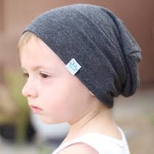 baby slouchy beanie toddler boy slouch beanie gray