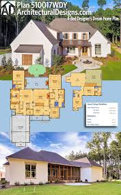 architectural designs 4 bed acadian style house plan 510017wdy has