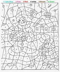adults free free printable color number coloring pages