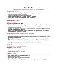 Application Resume Template Employment History Template Sample First Resume Employment
