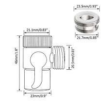 kitchen faucet splitter diverter faucet splitter brass sink valve hose adapter kitchen