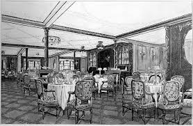 Titanic First Class Dining Room Titanic U0027s First Class Passenger Facilities The A La Carte