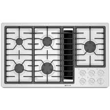 36 Inch Downdraft Electric Cooktop Jenn Air Gas Downdraft Cooktops Factory Builder Stores