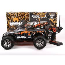 remote control bigfoot monster truck rtr rc electric 1 10 magma 4wd monster truck electronics