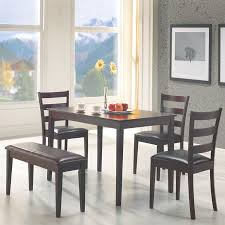 Painted Dining Table by Gray Painted Dining Chairs